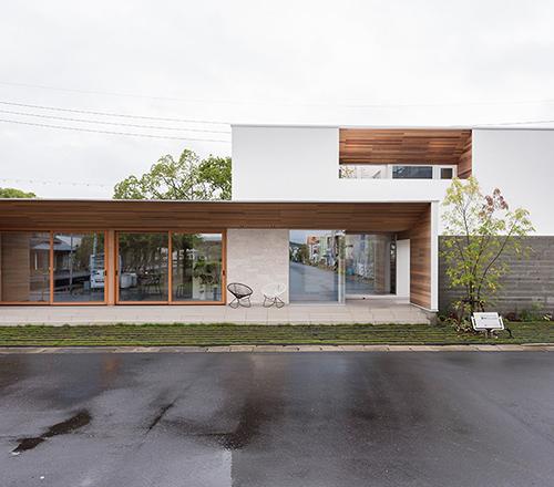 機能美を叶えた家の外観